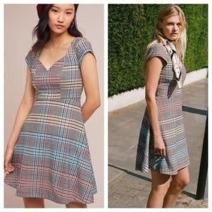 Moulinette Soeurs Finley Plaid Dress - Sz 16